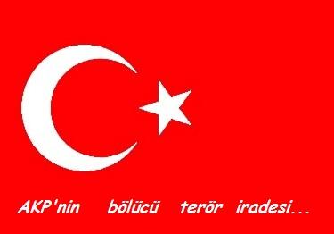 AKP'nin bölücü terör iradesi...