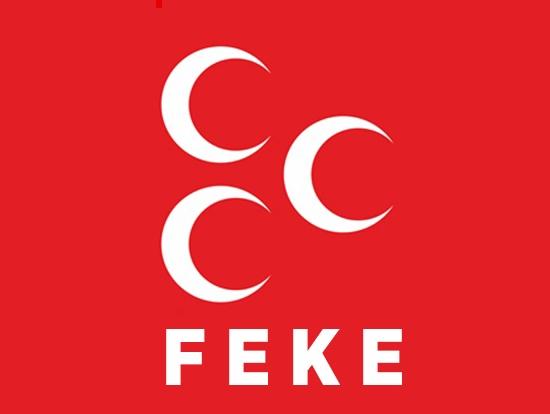 MHP Feke'de Fikret Çilingir Yeniden Başkan